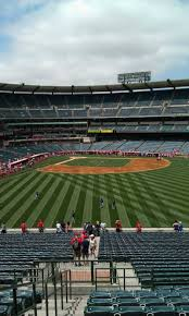 Angel Stadium Seating Map Angel Stadium Section P246 Row L Seat 1 Los Angeles Angels