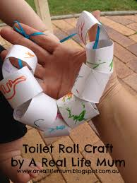 a real life mum toilet roll craft cardboard tube necklaces