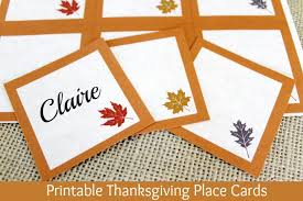 free printable thanksgiving place cards thanksgiving traditions