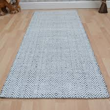 ives hallway runners in black white free uk delivery the rug