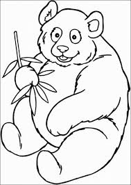 panda pictures printable coloring