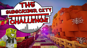 search halloween city halloween special the subscriber city challenge ep 7 youtube