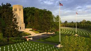Flag Pole Hill Aisne Marne American Cemetery American Battle Monuments Commission