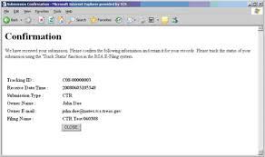 E Filing Manual Bsa Infobase Ffiec