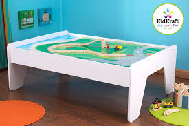 kidkraft train table compatible with thomas amazon com kidkraft train table white toys games