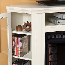 White Electric Fireplace With Bookcase Amazon Com Claremont Convertible Media Electric Fireplace Ivory
