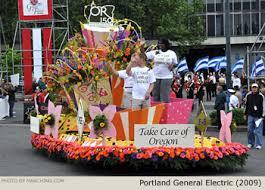 2009 portland festival grand floral parade photos floats
