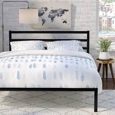 Flat Platform Bed Platform Beds You Ll Wayfair