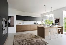 contemporary kitchen wood veneer lacquered integra pedini