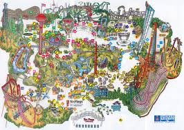 Santa Clarita Zip Code Map by Six Flags California Map California Map
