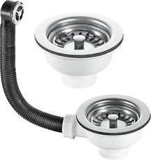 Kitchen Sink Basket Stainless Steel Kitchen Sink Basket Strainer Waste Kits 60mm
