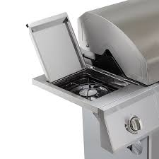 amazon com dyna glo dge series propane grill 4 burner stainless