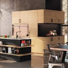cuisine qualité cuisine contemporaine décor bois gaia zenit haut de gamme sur mesure