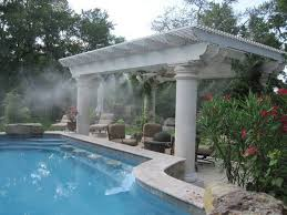 installing the patio misting system patio design ideas
