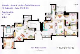 that 70s show house floor plan tv floorplans how i met your mother the big bang theory friends