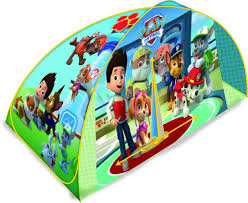 paw patrol bed tent toys