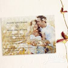 wedding announcement cards fall rustic photo wedding announcements wfa002 wfa002 0 99