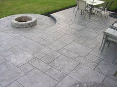 Backyard Flooring Ideas by Concrete Exterior Flooring Ideas Cute Stamped Concrete Patio