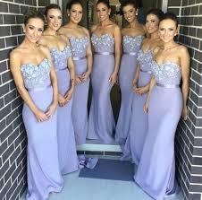 wedding dresses for of honor lavender mermaid bridesmaid dresses handmade