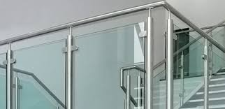 Glass Handrails For Stairs Glass Balustrade Quality Glass Balustrade Systems U0026 Glass Clamps