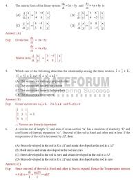 graduate aptitude test in engineering solved question papers of