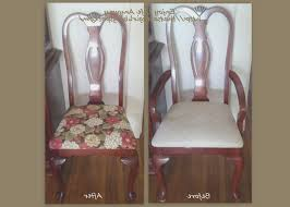 recover dining room chairs dining room creative fabric to recover dining room chairs