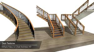 Switch Back Stairs by Chief Architect X9 New Features Stairs Youtube