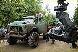 monster truck video monster trucks u0027 video watch u0027macgyver u0027s lucas till become bffs