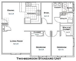 two bedroom house floor plans best 25 2 bedroom floor plans ideas on small house