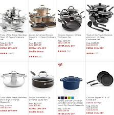 cookware black friday deals macy u0027s cookware sale up to 65 off an additional 15 off plus