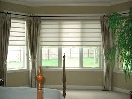 Cheap Window Curtains by Treatment Ideas Shades For Kitchen S Breakfast Nook With Bay