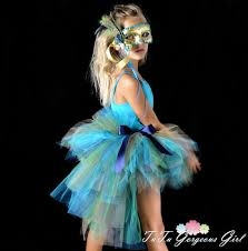 Peacock Halloween Costume Girls Halloween Peacock Bustle Tutu Feathers Peacock Costume