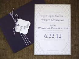 wedding invitations questions purple and gray wedding invitations weddingbee photo gallery