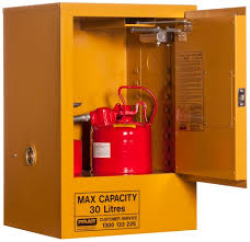 flammable liquid storage cabinet flammable liquids storage cabinets 30 litre 5516as spacepac