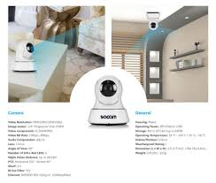 sacam wireless 720p network security cctv ip camera night vision