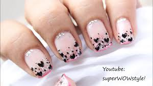 cute glitter nail art glitter nail polish designs video