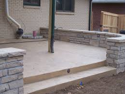 stone u0026 cement stairs a affordabale landscape