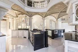 design of the kitchen grand chateau residence in the colorado rocky mountains