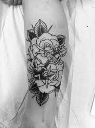 Male Flower Tattoos - male anchor tattoo art and designs page 2