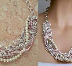 bridesmaid statement necklaces teki 25 den fazla en iyi bridesmaid statement necklace fikri