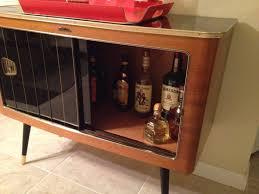 modern glass buffet cabinet furniture mid century modern bar cabinet using sliding door as