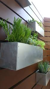 planters shallow wood planter box long dedicated gardening area
