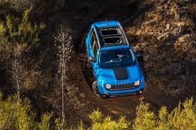 jeep renegade trailhawk blue 2015 jeep renegade review