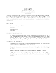Law Resume Examples by Attorney Resume Bar Admission Resume For Your Job Application