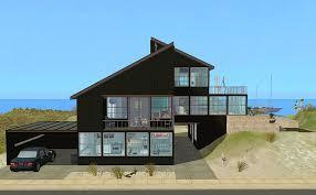 Modern Beach House Mod The Sims Link To The Past Modern Beach House
