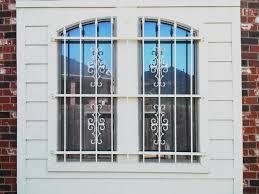 home security window bars decorative basement window bars advice