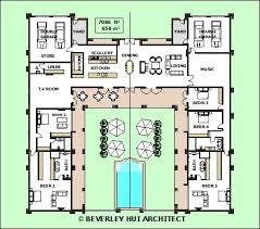 u shaped floor plans with courtyard u shaped house with courtyard unique inspiring house plans with