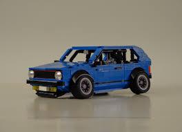 volkswagen lego lego ideas volkswagen golf mk1 stanced