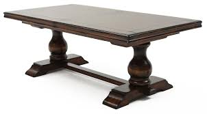 tuscany dining table chestnut weir u0027s furniture