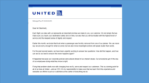 United Flight Change Policy by United Steps Up Its Response To Public Outcry Inward Strategic